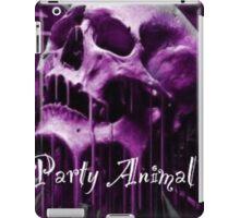 Purple party animal iPad Case/Skin