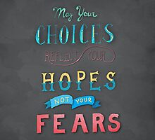 Choose Hope Lettering by Brooke Glaser