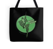 Night Vision Pin Up Tote Bag