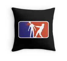 Major League Zombie  Throw Pillow