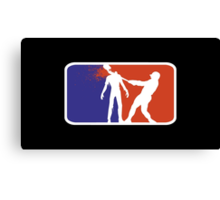 Major League Zombie  Canvas Print