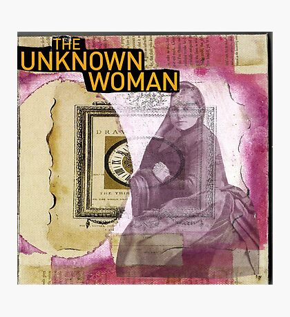 The Unknown Woman Photographic Print