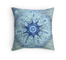 Fractal Design 7 Throw Pillow