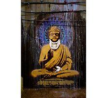 Banksy - Bashed Buddha Photographic Print