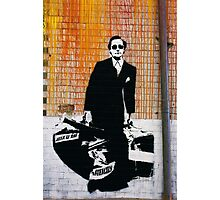Blek le Rat - Man Who Walks Through Walls Photographic Print