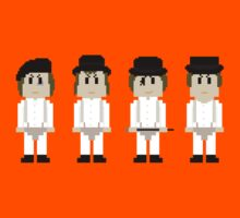 8-Bit A Clockwork Orange by AlCreed