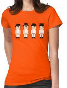 8-Bit A Clockwork Orange Womens Fitted T-Shirt