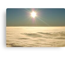 Flying at 3000 Ft Canvas Print