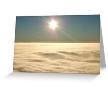 Flying at 3000 Ft Greeting Card