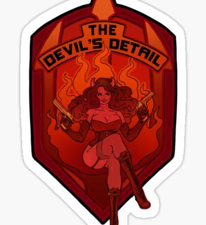 The Devil's Detail Sticker