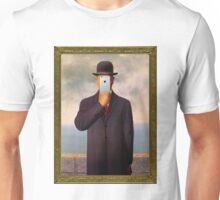 Man with Apple Unisex T-Shirt