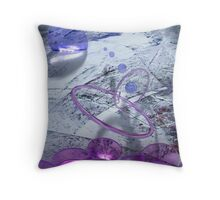 Her Thoughts Throw Pillow