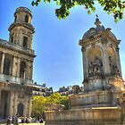 Saint Sulpice in Paris by Michael Matthews