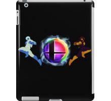 Smash logo and Falcon Knee of Justice iPad Case/Skin