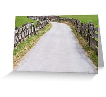 On The Way Greeting Card