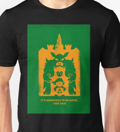 It's Dangerous to go alone! Buy This! Unisex T-Shirt