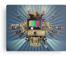 The Television Will Not Be Revolutionised! Metal Print