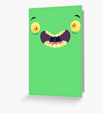 Monster Mugs - Cray Cray Greeting Card