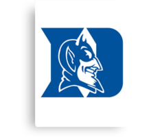 duke blue devils Canvas Print
