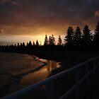 Dark Sunset by Helen Wise