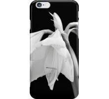 White Amaryllis Flower iPhone Case/Skin