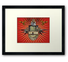 The Revolution Will Not Be Televised! Framed Print