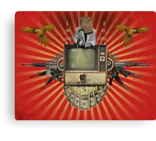 The Revolution Will Not Be Televised! Canvas Print
