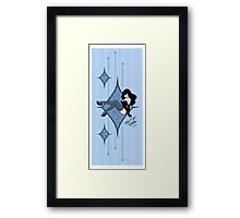 Blue Eyed Bettie Framed Print