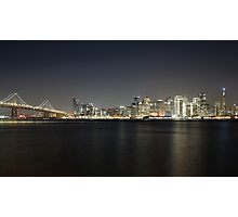 San Francisco Holiday Skyline Photographic Print