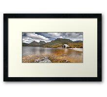 Boat Shed - Cradle Mountain, Tasmania Framed Print