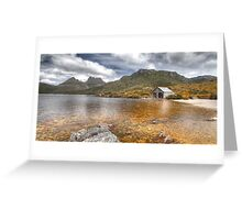 Boat Shed - Cradle Mountain, Tasmania Greeting Card