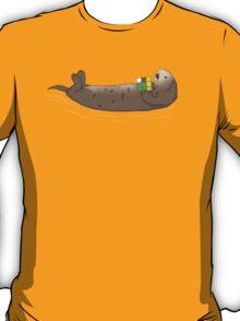 Otters Like Rubik's Cubes T-Shirt