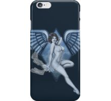Blue Angel Pinup iPhone Case/Skin