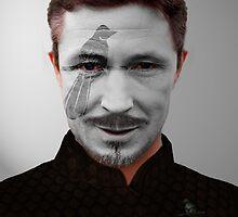 "Petyr ""Littlefinger"" Baelish House Mockingbird War Paint by HilaryHeffron"