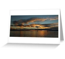 Sunrise - Port Stephens, NSW Greeting Card