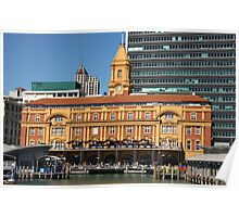 The Ferry Building Poster