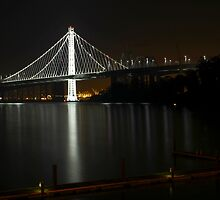 New San Francisco Bay Bridge by Jenn Ramirez
