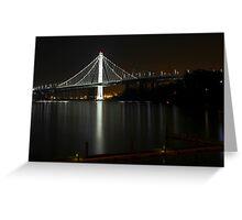 New San Francisco Bay Bridge Greeting Card