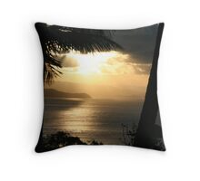 Hamilton Island sunset 4 Throw Pillow