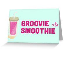 Groovie Smoothie Greeting Card