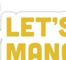Go Mango! Sticker