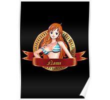 Certified Pirate Nami Poster