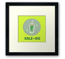 Kale Aid Framed Print