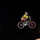 BMX Bike Jumper by Bob Fox