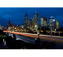 Melbourne Rush Hour Photographic Print