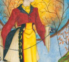 Autumn Walk Sticker