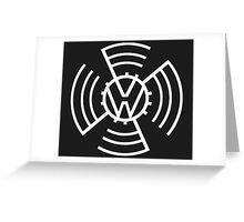 Volkswagen Logo 2 Greeting Card