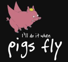 When Pigs Fly -dark ver by Adrian Jeffs