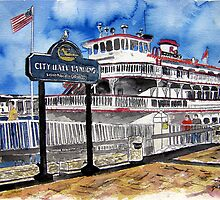Savannah Queen River Boat by derekmccrea