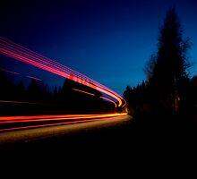 Night Driving II by Luke Tennant